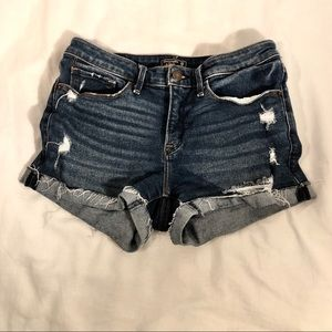 Abercrombie & Fitch Distressed Shorts Size 25